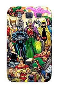 Hot New Ww Ii Victory Parade Dc Heroe Jason Metcalf Chri Ivy On Colors Case Cover For Galaxy S3 With Perfect Design