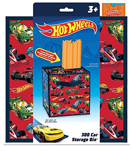 Hot Wheels Track Storage and Car Storage