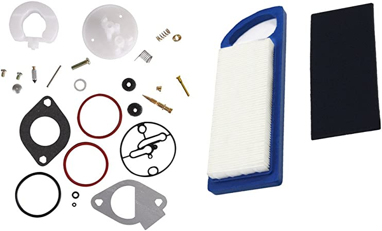 Carburateur Rebuild Kit pour Briggs /& Stratton Master Overhaul Nikki 796184 Carb