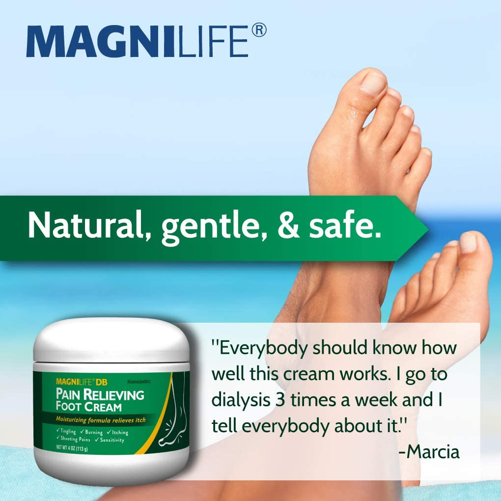 Amazon Com Magnilife Db Pain Relieving Foot Cream Calming Relief