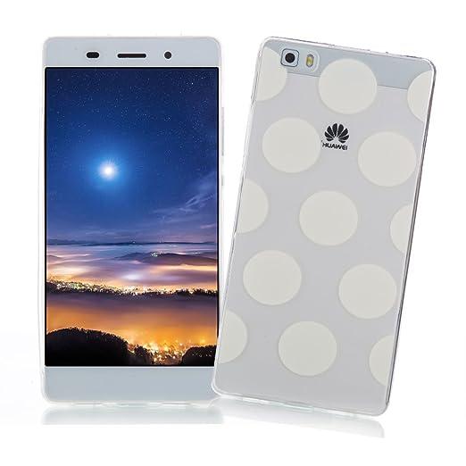 2 opinioni per Cover Huawei P8 LITE XiaoXiMi Custodia Trasparente in Silicone Gomma Clear Soft