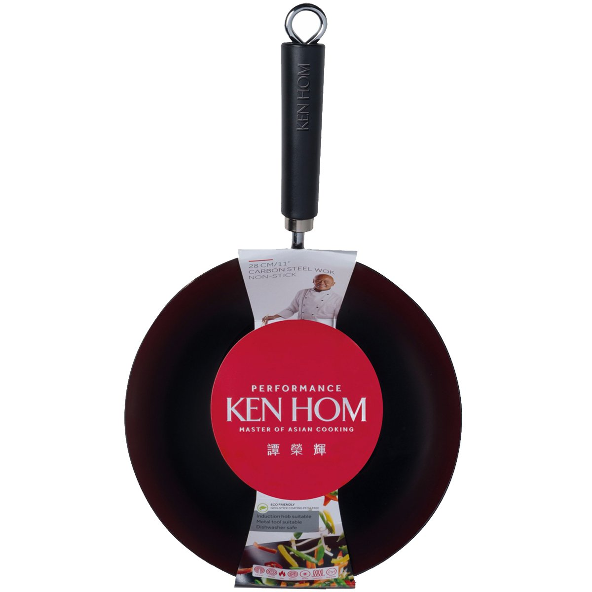 Ken Hom Performance Range Square Non-Stick Grill Pan, Cast Aluminium, Black, 25 cm DKB Household UK Ltd KH225004