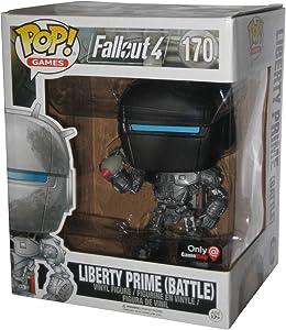 Fallout Funko Pop! Games 4 Liberty Prime (Battle) Exclusive 6 inch Super Sized Pop #170