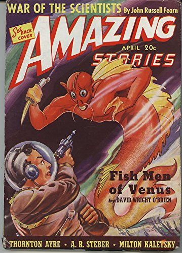 Amazing Stories April 1940, Volume 14, No. 4