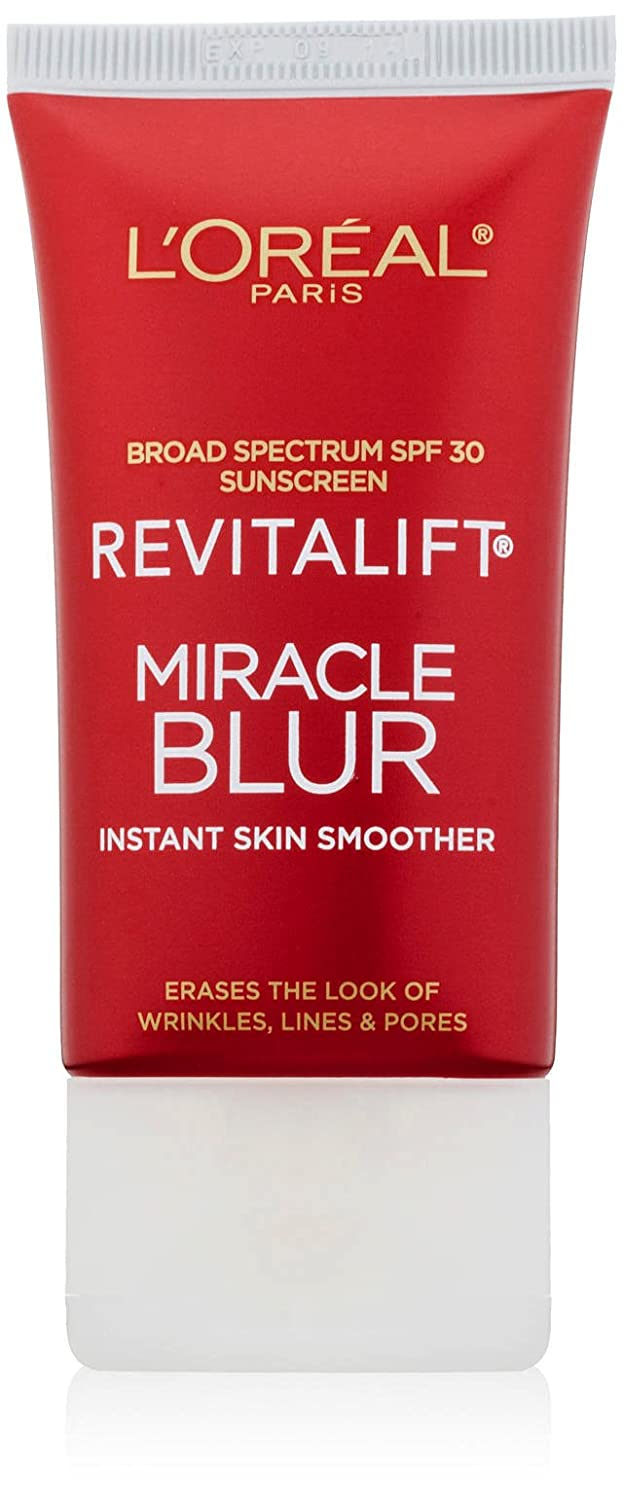 L'Oreal Paris Skincare Revitalift Miracle Blur Instant Skin Smoother, Facial Cream with SPF 30, 1.18 fl. oz. L' Oreal Paris L' Oreal Paris Skin Care 071249249130