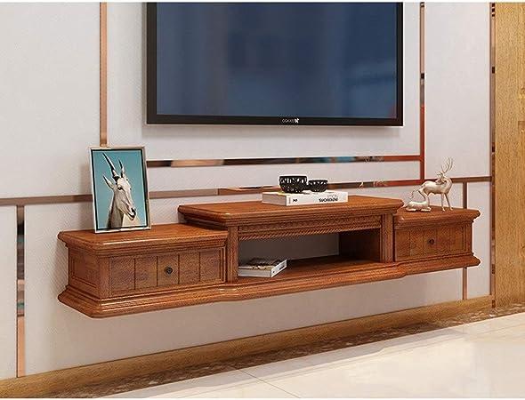 XINGPING-Shelf TV montada en la Pared de Pared Flotante Rack Rack de TV Conjunto de