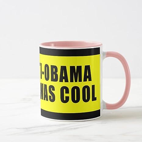 9208373d2dc Amazon.com | Zazzle I Was Anti Obama Before It Was Cool Coffee Mug ...