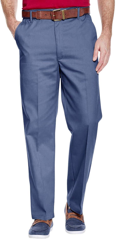 Chums Pantalon de Soir/ée avec Taille R/églable pour Homme