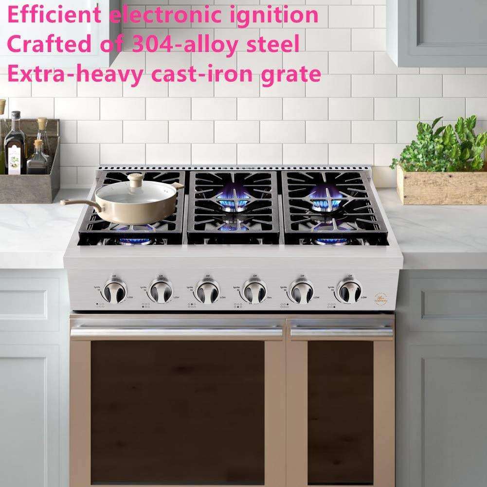 Kitchen Academy Gas Cooktop