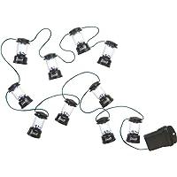 Coleman LED String Lights , Black, 10 Tiny LED Lanterns
