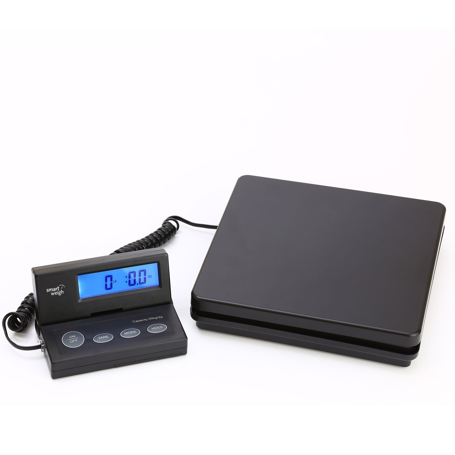 Smart Weigh Digital Postal Scale, 110 lbs Capacity, UPS USPS Scale W AC Adapter ACE110