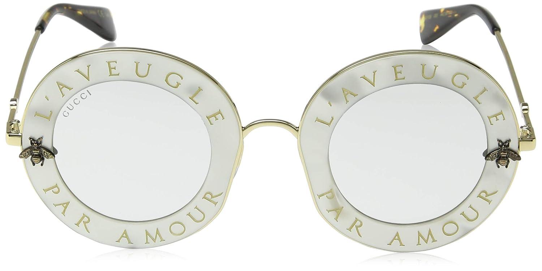 f6f66072f85 Amazon.com  Gucci Womens Women s Round 44Mm Sunglasses  Clothing