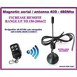 Antena accordata con soporte de acero 433,92 MHz intgrabile ...
