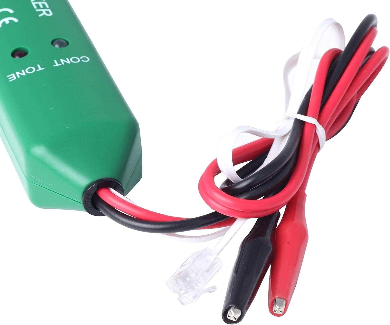 iMiMi Testeur de Fil avec /émetteur MS6812-T MS6812-R et r/écepteur Rcepteur pour contr/ôle de continuit/é t/él/éphonique