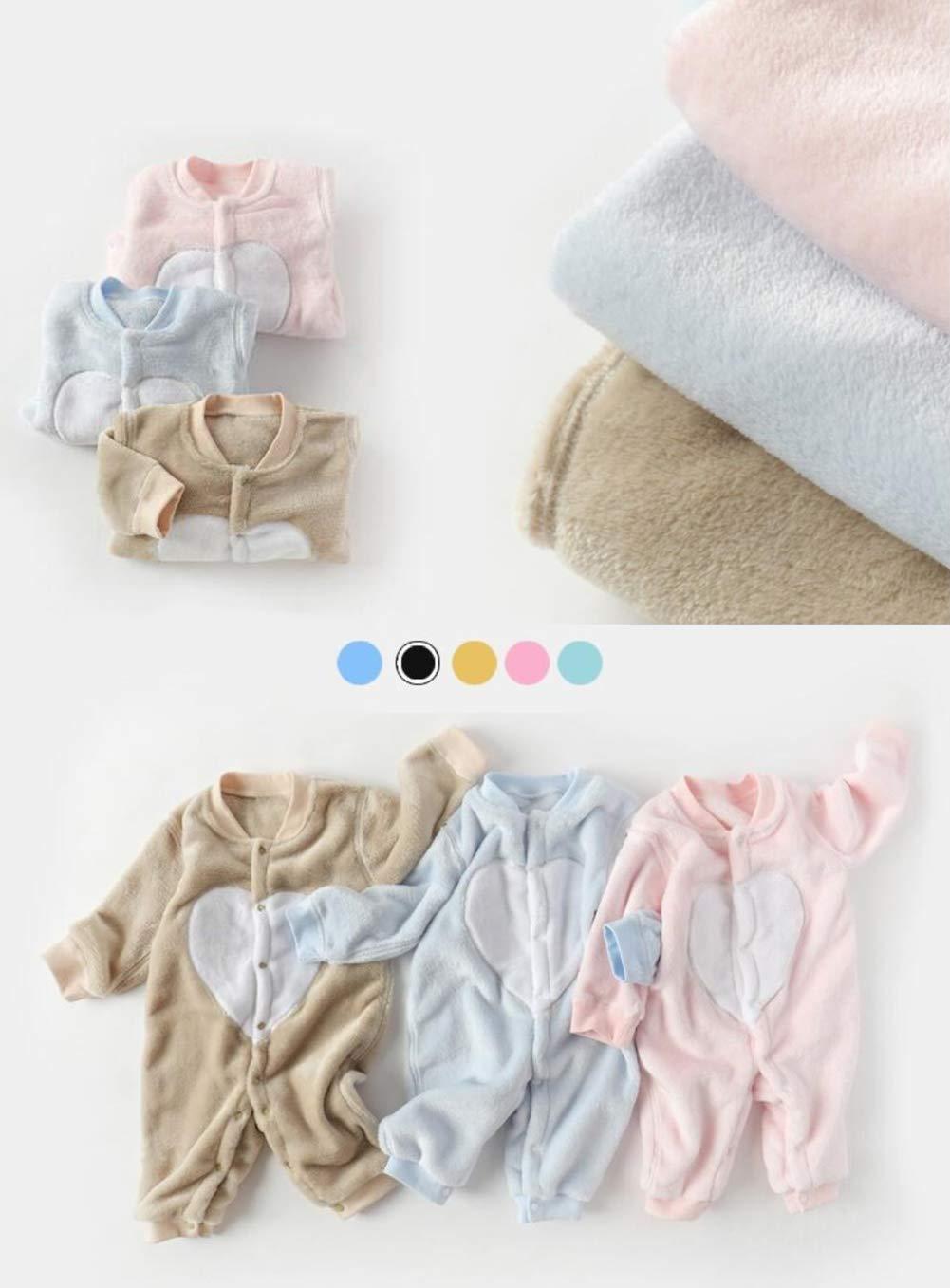 DEBAIJIA Baby Strampler 0-3T S/äugling Overall Kleinkind Spielanzug Footed Neugeborene Jumpsuit Pyjama Nachtw/äsche Junge M/ädchen Unisex