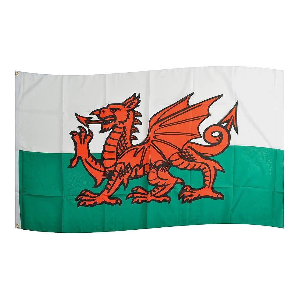 Bandera de Gales, 150 x 90 cm: Amazon.es: Deportes y aire libre