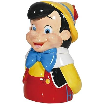 Disney Cookie Jars Amazon Com >> Westland Giftware Ceramic Cookie Jar 11 Inch Disney Pinocchio