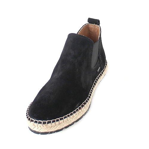 Shabbies Amsterdam Botines Chelsea de Piel Mujer, Color Negro, Talla 39 EU: Amazon.es: Zapatos y complementos