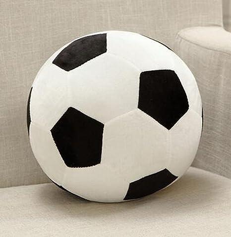 qlin peluche de suave Fútbol almohadas cojines juguetes para niños ...