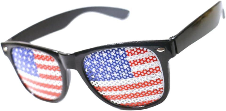 Gafas de Sol Diseño Cristal Gracioso Bandera Americana Conciertos ...