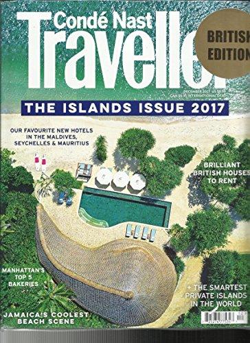 CONDE NAST TRAVELLER MAGAZINE, THE ISLANDS ISSUE, 2017 DECEMBER, 2017 BRITISH EDITION (Conde Nast Traveller)