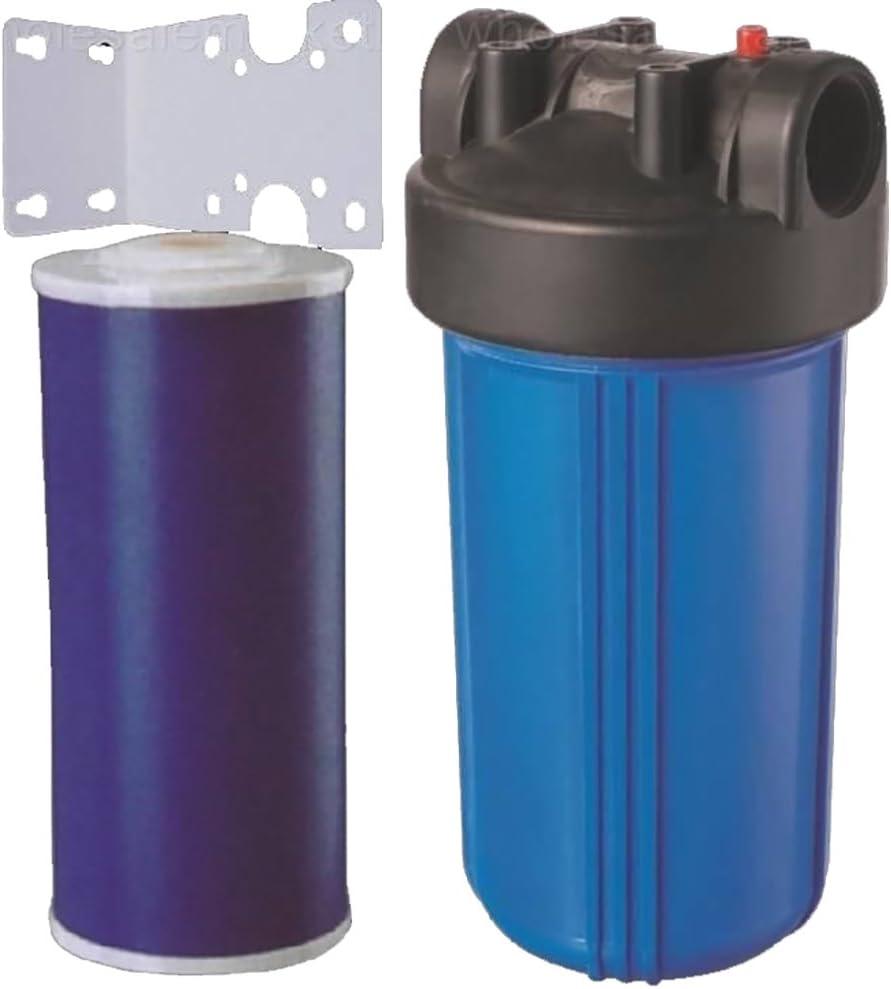 10 Big azul toda la casa Gag carbono filtro de agua purificador ...