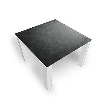 Dekoglas Couchtisch Granit Grau Glastisch Beistelltisch Fur