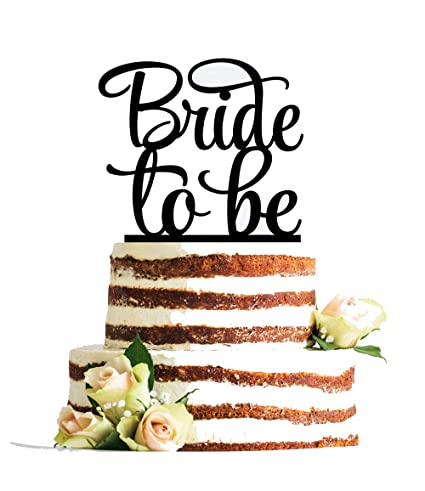 Buy UsaSales USA SALES Bride To Be Cake Topper Bridal Shower Engagement Party Decoration By Seller Online At Low Prices In India