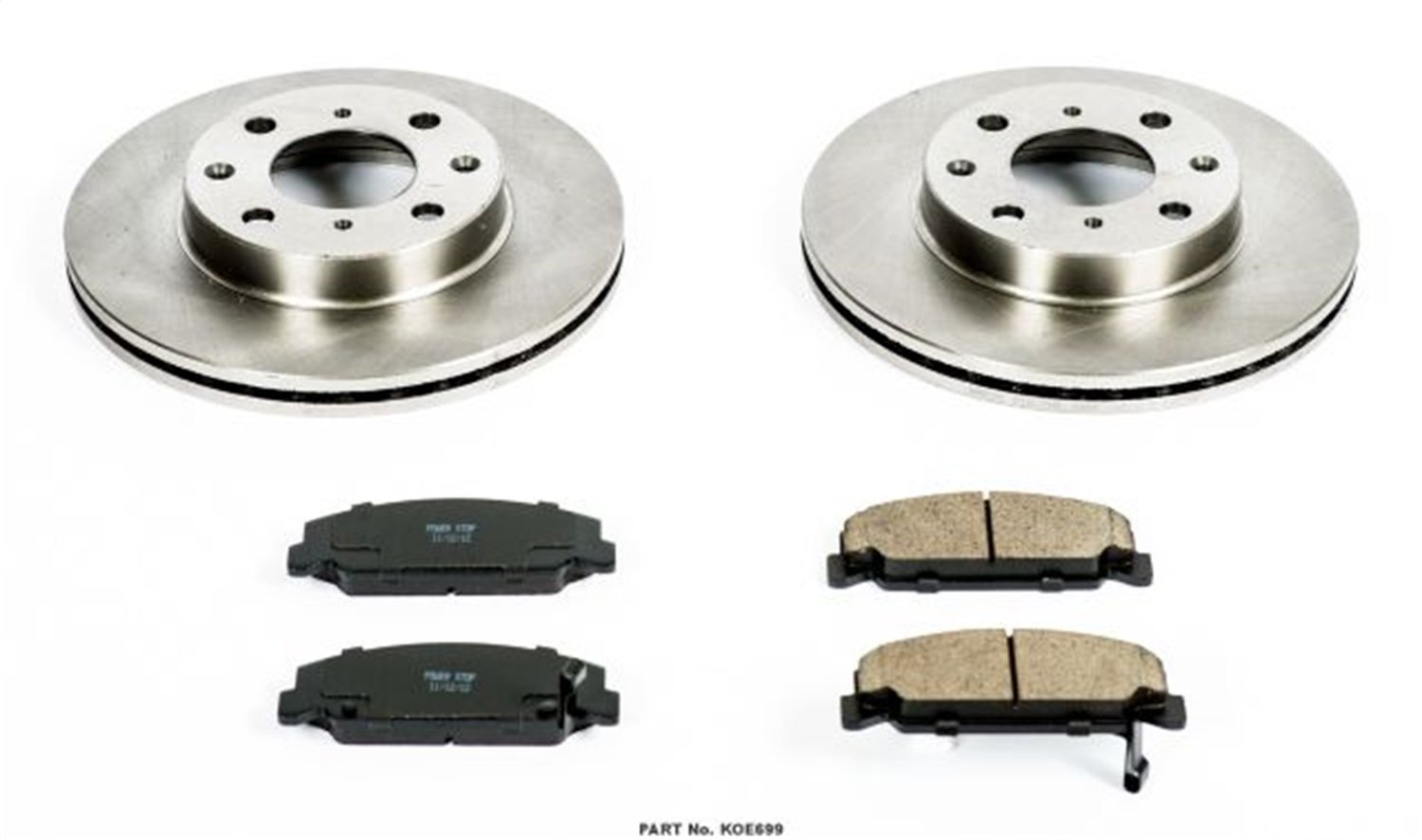Autospecialty KOE699 1-Click OE Replacement Brake Kit