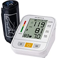 ULTNICE Blood Pressure Device Blood Pressure Measuring Electronic Blood Pressure Meter for Clinic Home (White English No…