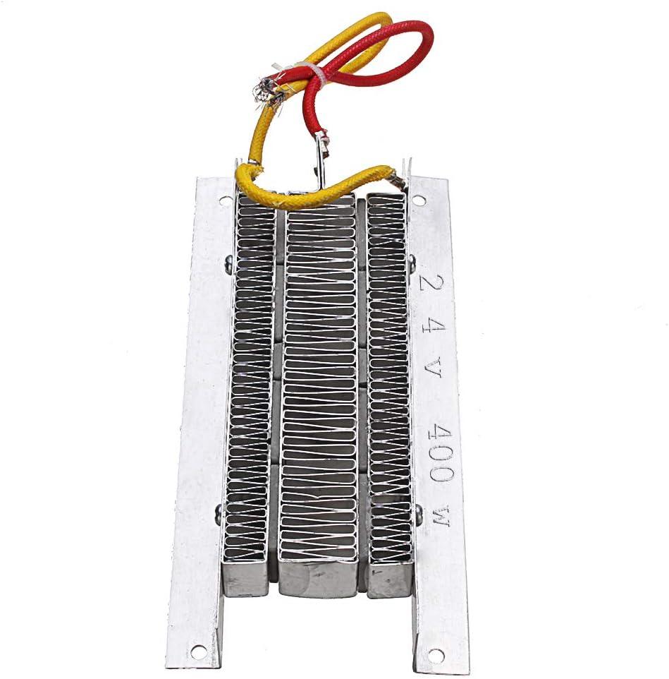BouBou 400W 24V PTC Calentador De Aire Cerámica Eléctrica Aislamiento Termostático PTC Calentador De Elemento Calefactor