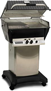 product image for Broilmaster P3-SX Super Premium Propane Gas Grill On Stainless Steel Cart