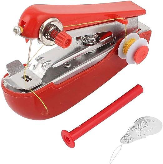 Máquinas de coser de mano Mini máquina de coser portátil para ...