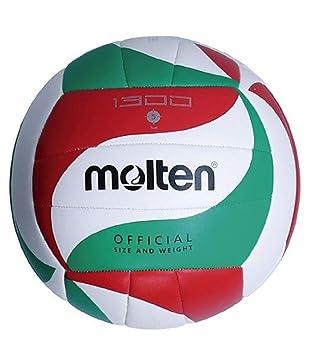 MOLTEN Balón Voleibol V5M1300 Talla 5: Amazon.es: Deportes y aire ...