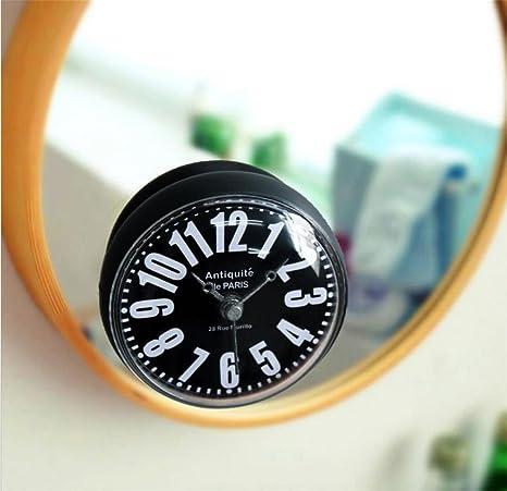 Reloj de Pared 3D Reloj creativo Minimalista Digital Cuarto de baño / WC / Cocina /