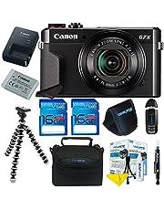 Canon PowerShot G7 X Mark II Digital Camera + Pixi-Basic Accessory Kit- International Version photo