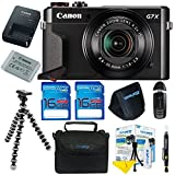 : Canon PowerShot G7 X Mark II Digital Camera + Pixi-Basic Accessory Kit- International Version