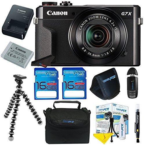 Canon PowerShot G7 X Mark II Digital Camera + Pixi-Basic
