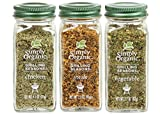 Simply Organic Grilling Seasons 3pc Variety Pack