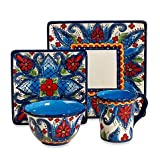 Tabletops Unlimited Lucca 4-Piece Square Place Setting