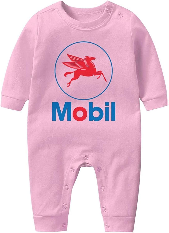 Baby Boys Girls Long Sleeve Baby Onesie Baby Romper NIANLJHDe Mobil-Logo-Sign-Emblem