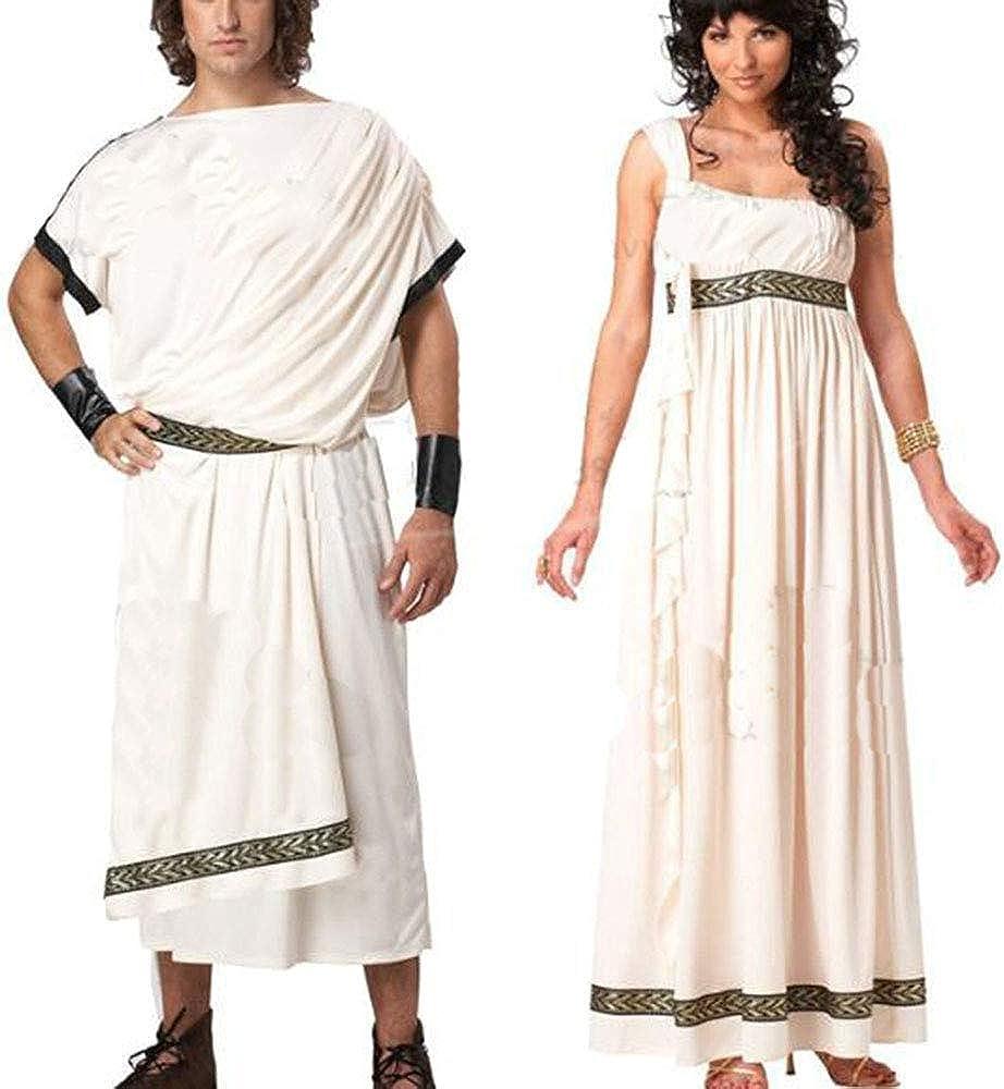 Disfraz de Diosa de Mujer Adulta, Diosa Romana Toga Griega Antigua ...