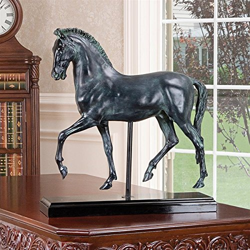- Design Toscano 2 Piece Classical Horse Study Sculpture