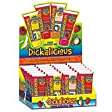 Bundle Package Of Dickalicious (24/DP) AND Swiss Navy Water Based Lubricant 5ml Foil