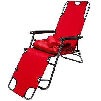AMANKA Campingstuhl Liegestuhl Freizeitliege Sonnenliege Strandliege Campingliege Klappliege Liege 153cm Dunkelblau