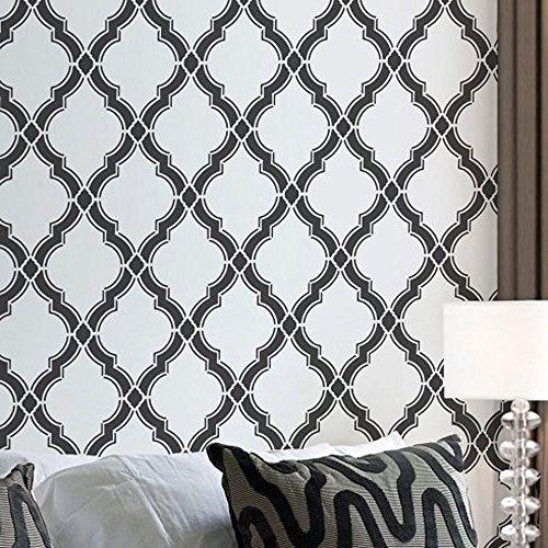 Agora Wall Stencil Pattern - Large - Beautiful stencils for DIY home decor