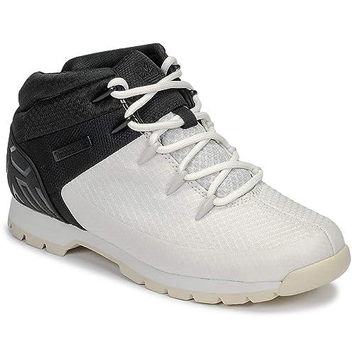0536cb4208f Timberland Euro Sprint Mid Hiker Lt Grey W Black CA1UO8, Boots ...