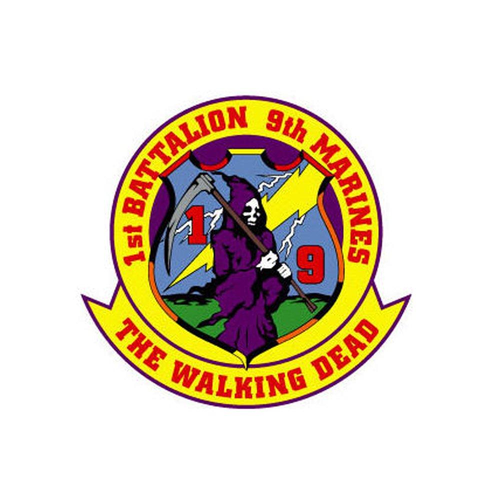 1st Battalion 4th Marines USMC sticker vinyl decal