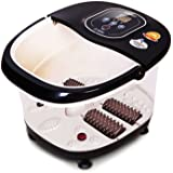 PowerLead Foot SPA Bath Massager,Multifunction Heat Infrared Vibrating Air bubble Electric Foot Massager Foot Shiatsu for Foot, Ankle, Leg, Calf,etc.
