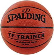 Spalding 742648C Weighted Trainer Basketball, Brown, 3 lbs, 28.5&